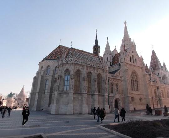 Mátyás Templom 360 fok 4K